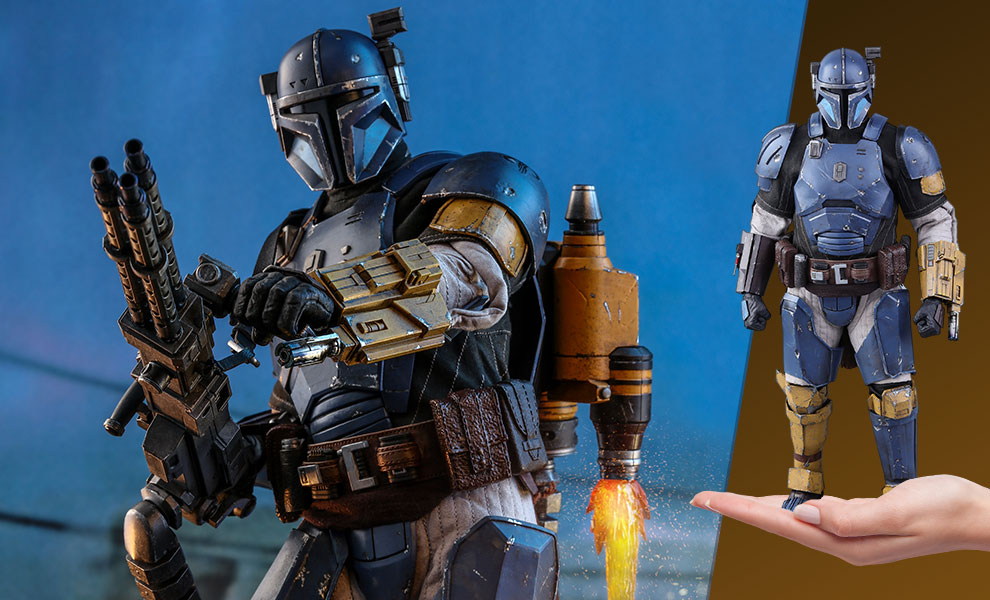 Gallery Feature Image of Heavy Infantry Mandalorian Sixth Scale Figure - Click to open image gallery