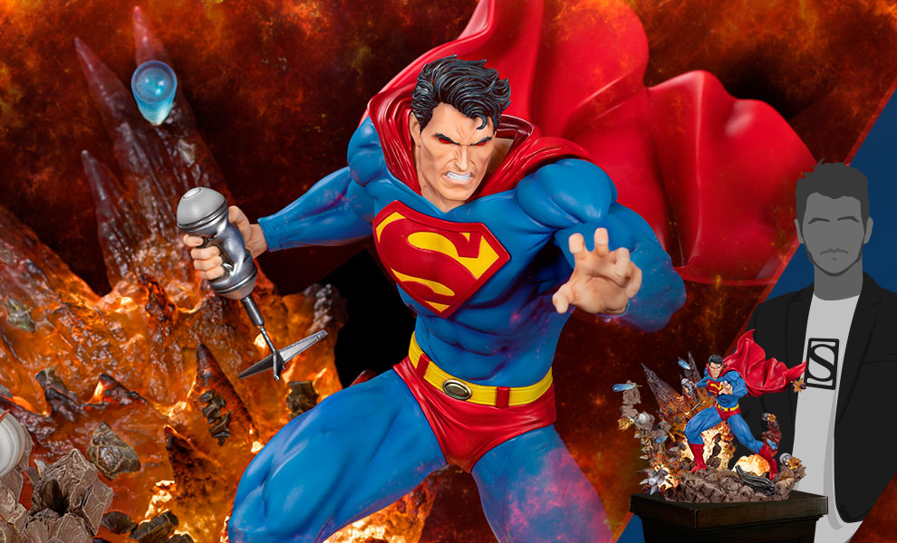 Gallery Feature Image of Superman: For Tomorrow Statue - Click to open image gallery