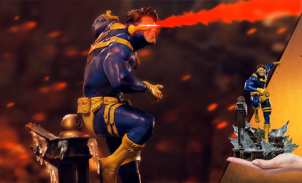 Gallery Feature Image of Cyclops 1:10 Scale Statue - Click to open image gallery