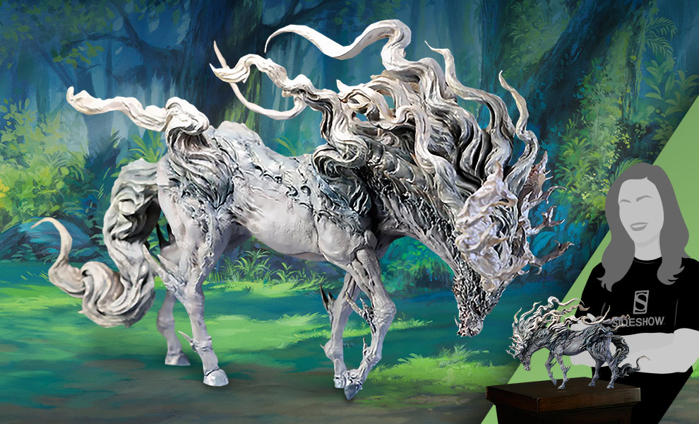 Gallery Feature Image of Jade Kirin Statue - Click to open image gallery