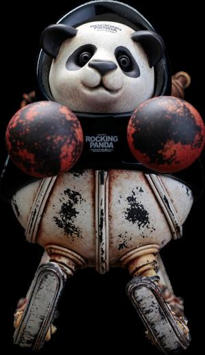 Rocking Panda (Small) Statue