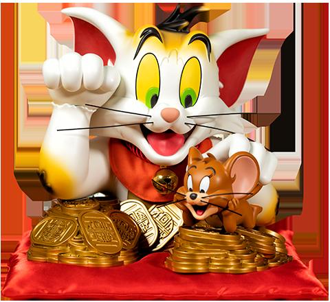 Soap Studio Tom and Jerry (Maneki-Neko Version) Bust