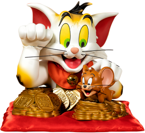 Tom and Jerry (Maneki-Neko Version) Bust