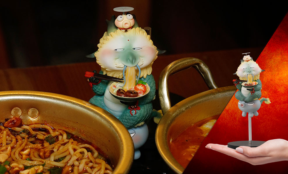 Gallery Feature Image of Suzerain - Noodle Soup Figurine - Click to open image gallery