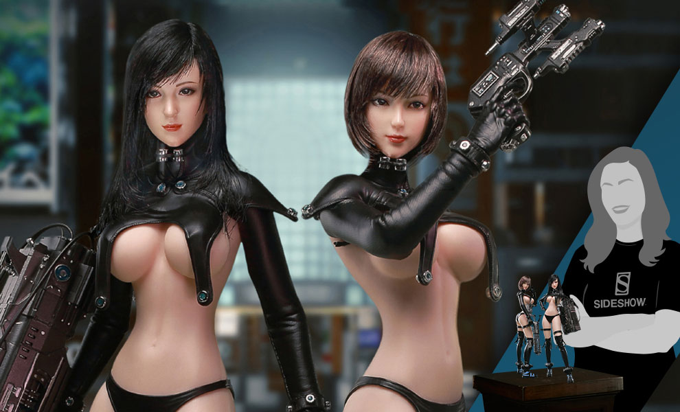 Gallery Feature Image of Reika & Anzu Sixth Scale Figure Set - Click to open image gallery