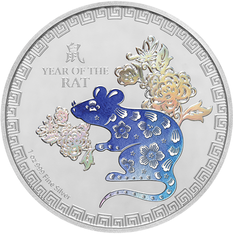 New Zealand Mint 2020 Year of the Rat Silver Collectible
