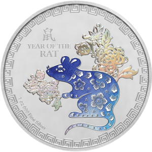 2020 Year of the Rat Silver Collectible