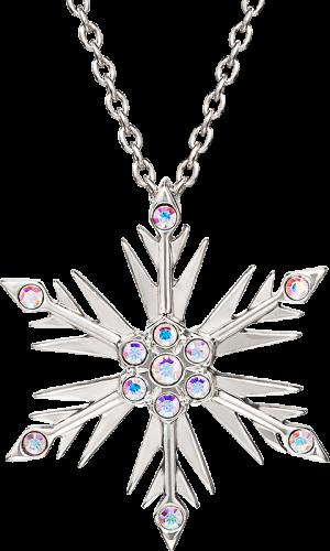 Disney's Frozen 2 Crystal Snowflake Pendant Jewelry