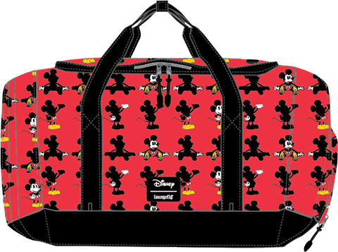 Loungefly Mickey Parts AOP Duffle Bag Apparel