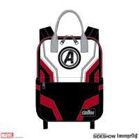 Gallery Image of Avengers Endgame Suit Square Backpack Apparel