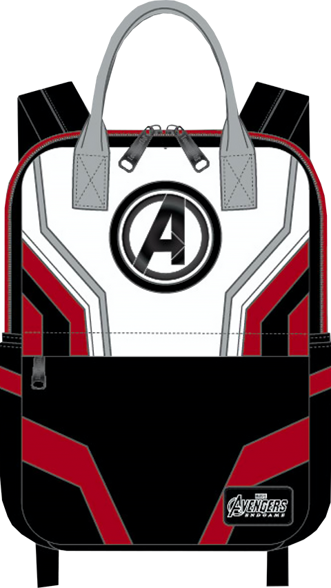 Loungefly Avengers Endgame Suit Square Backpack Apparel