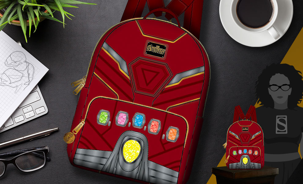 Gallery Feature Image of Iron Gauntlet Endgame Hero Mini Backpack Apparel - Click to open image gallery