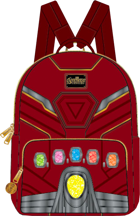 Loungefly Iron Gauntlet Endgame Hero Mini Backpack Apparel