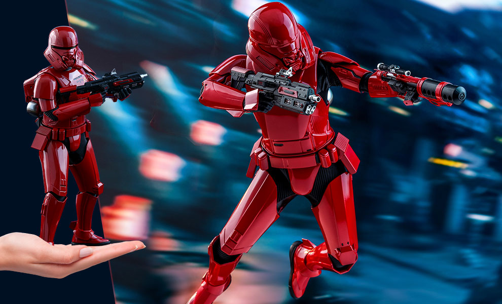 Gallery Feature Image of Sith Jet Trooper Sixth Scale Figure - Click to open image gallery