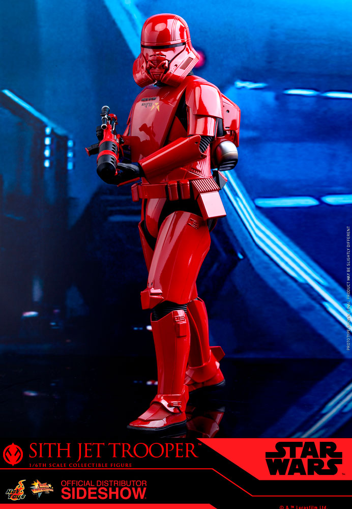 Hot Toys Star Wars The Rise Of Skywalker Sith Jet Trooper 1//6 Sixth Scale Figure