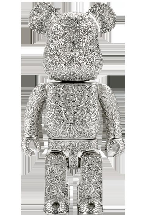 Medicom Toy Be@rbrick Royal Selangor Arabesque Light 400% Figure