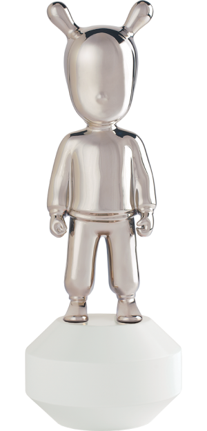 The Silver Guest Figurine