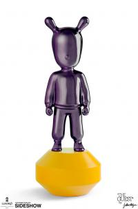 Gallery Image of The Guest Little Purple on Yellow Figurine