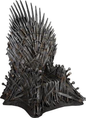 "Iron Throne 18"" Replica"