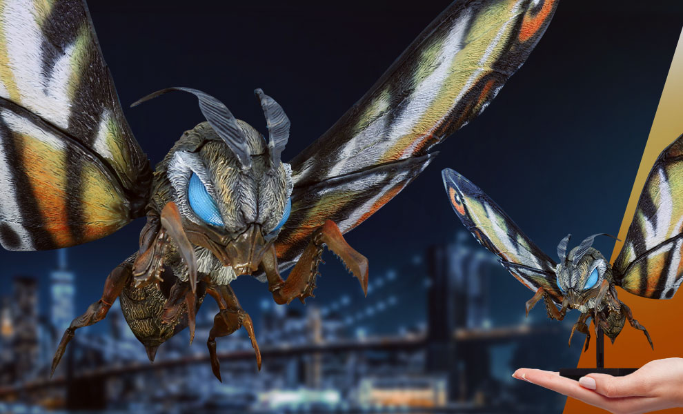 Gallery Feature Image of Mothra Collectible Figure - Click to open image gallery
