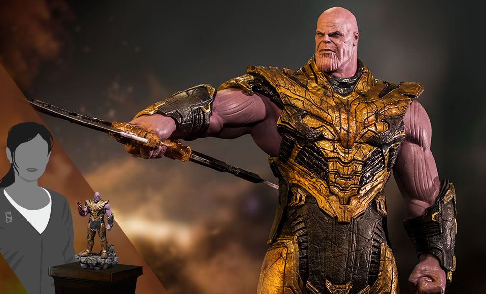 Gallery Feature Image of Thanos Black Order Deluxe 1:10 Scale Statue - Click to open image gallery