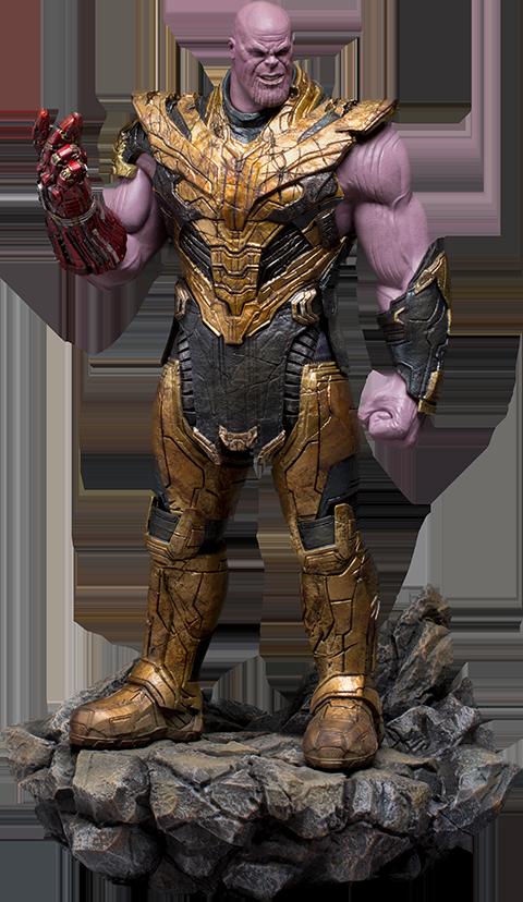 Iron Studios Thanos Black Order Deluxe 1:10 Scale Statue