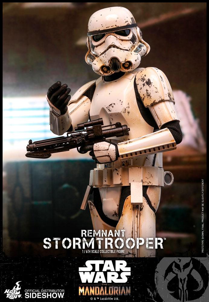 Hot Toys Remnant Stormtrooper 1:6 Scale Figure les Mandaloriens TMS001 Sideshow