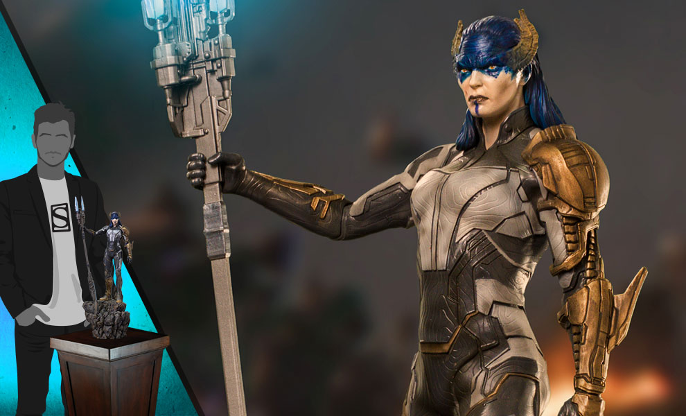 Gallery Feature Image of Proxima Midnight (Black Order) 1:10 Scale Statue - Click to open image gallery