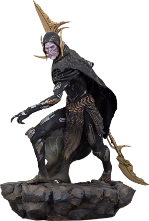 Corvus Glaive (Black Order) Statue