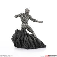 Gallery Image of Black Panther Guardian Figurine Pewter Collectible