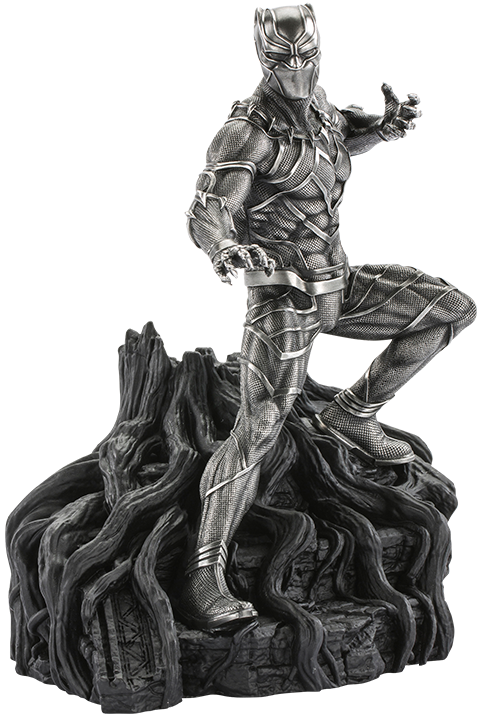 Royal Selangor Black Panther Guardian Figurine Pewter Collectible