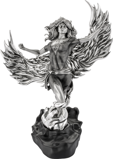 Royal Selangor Phoenix Arising Figurine Pewter Collectible