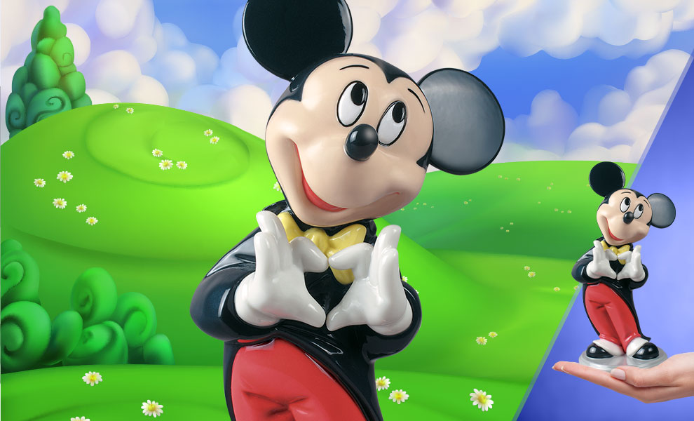 Gallery Feature Image of Mickey Mouse Figurine - Click to open image gallery