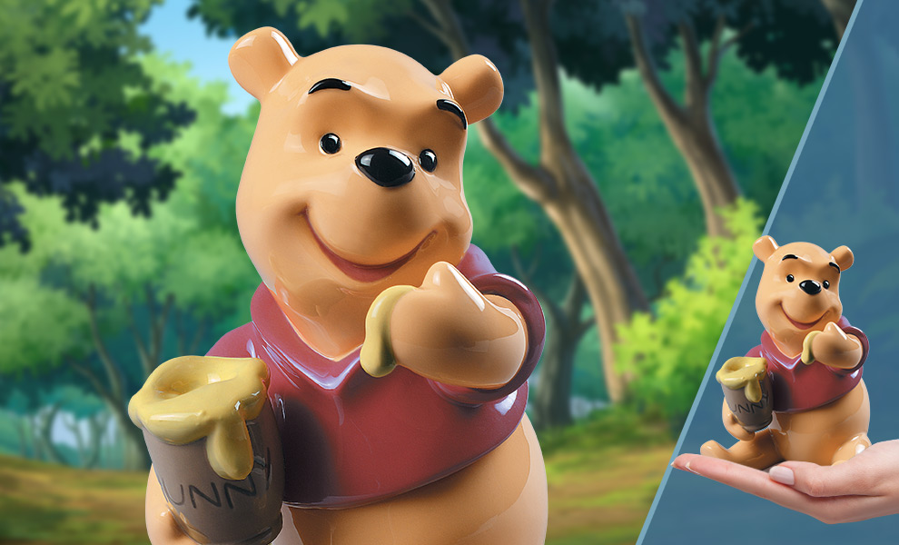 Gallery Feature Image of Winnie the Pooh Figurine - Click to open image gallery