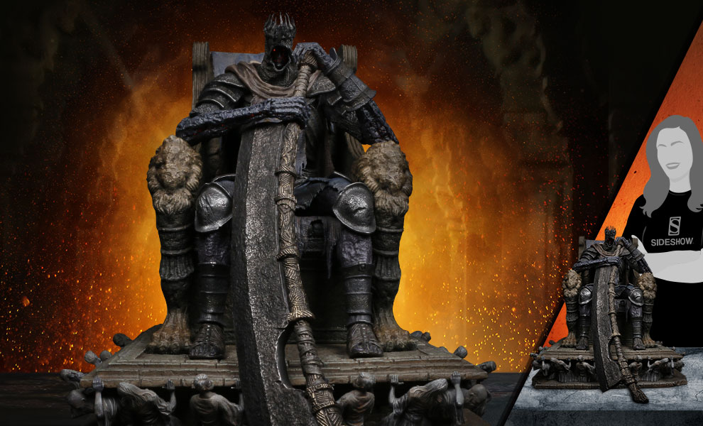 Gallery Feature Image of Yhorm on Throne Statue - Click to open image gallery