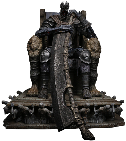 PureArts Yhorm on Throne Statue