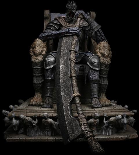 PureArts Yhorm on Throne Statue