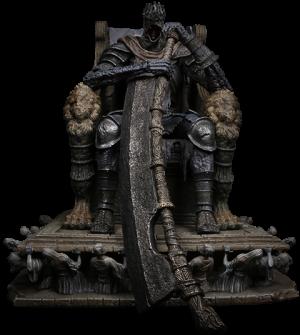 Yhorm on Throne Statue