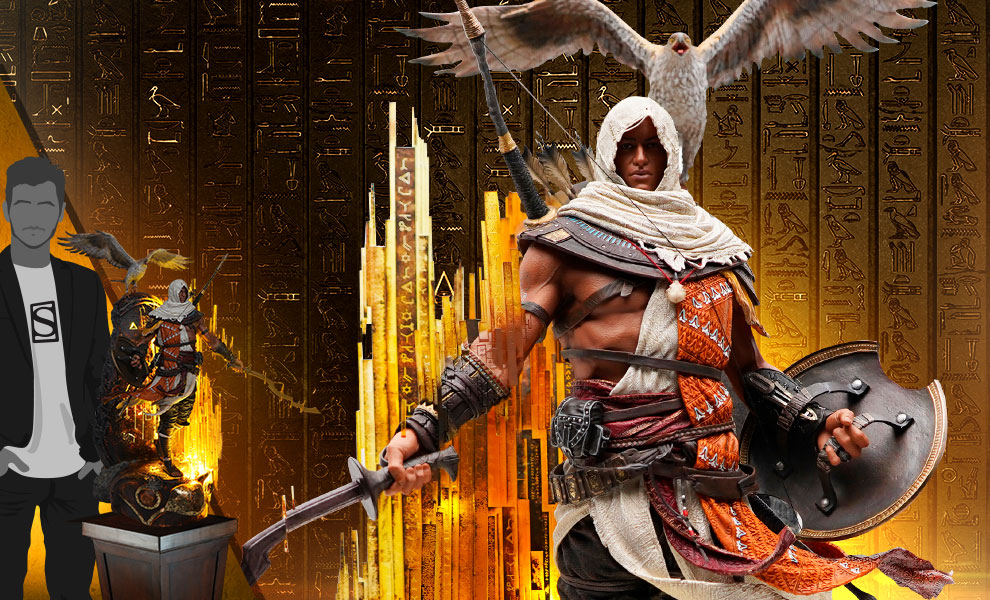 Animus Bayek Statue By Purearts Sideshow Collectibles