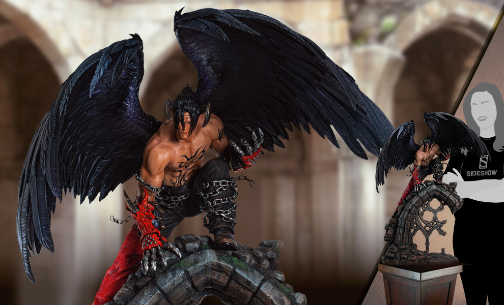 Gallery Feature Image of Devil Jin Statue - Click to open image gallery