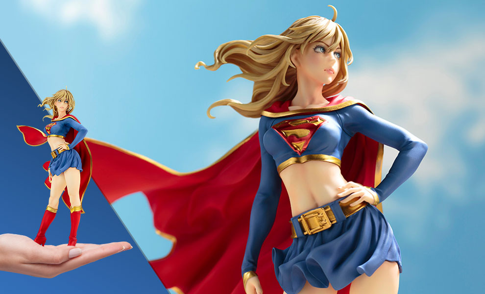 Gallery Feature Image of Supergirl Returns Statue - Click to open image gallery
