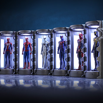 Spider-Man Armory Miniature Diorama