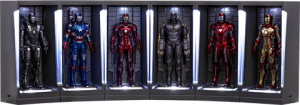 Iron Man Hall of Armor Miniature (Series 2) Diorama