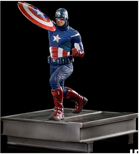 Iron Studios Captain America 2012 1:10 Scale Statue