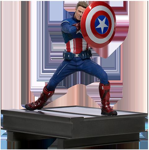 Iron Studios Captain America 2023 1:10 Scale Statue