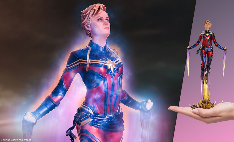 Gallery Feature Image of Captain Marvel 1:10 Scale Statue - Click to open image gallery