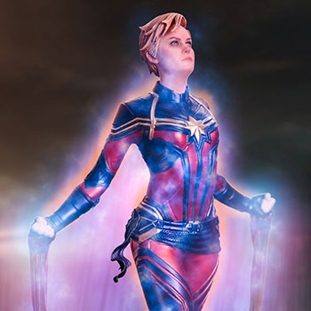 Captain Marvel 1:10 Scale Statue