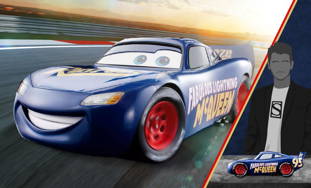 Gallery Feature Image of Fabulous Lightning McQueen Model - Click to open image gallery