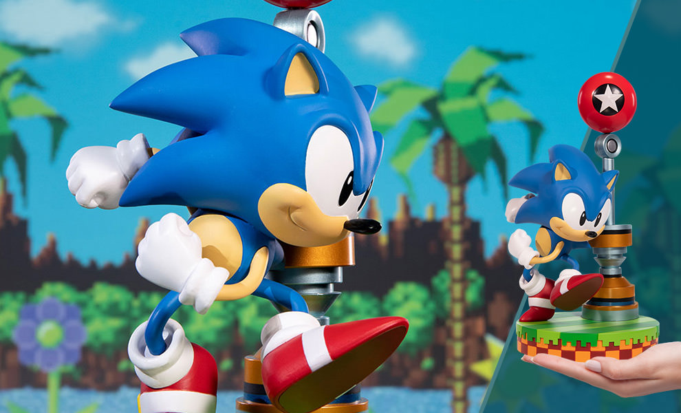 Sonic The Hedgehog Statue By First 4 Figures Sideshow Collectibles