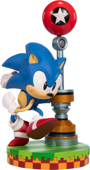Sonic the Hedgehog Statue